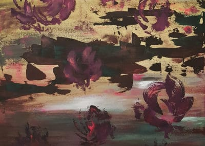 Květy abstrakt