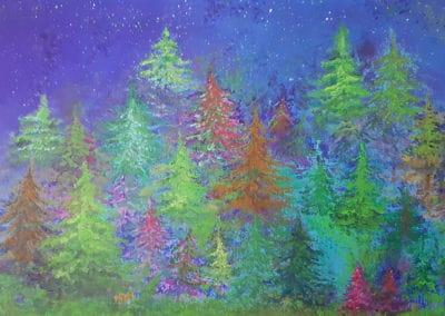 Tajuplný les